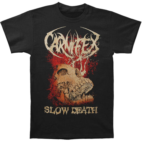 Carnifex Men's  Slow Death T-shirt Black