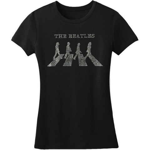 Beatles  Abbey Road Junior Top Black