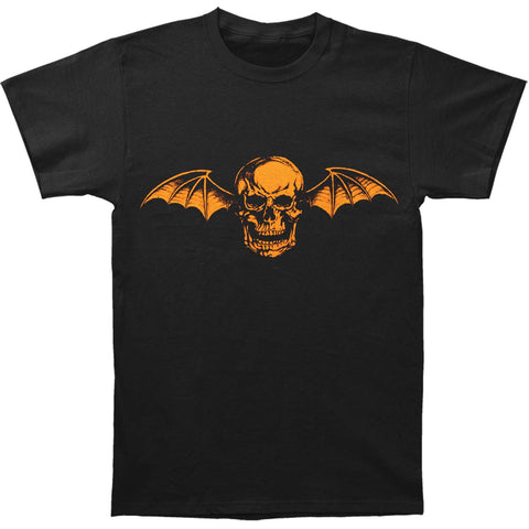 Avenged Sevenfold Men's  AVS Halloween Mens Regular T T-shirt Black