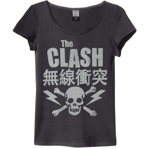 Clash  Bolt Junior Top Black