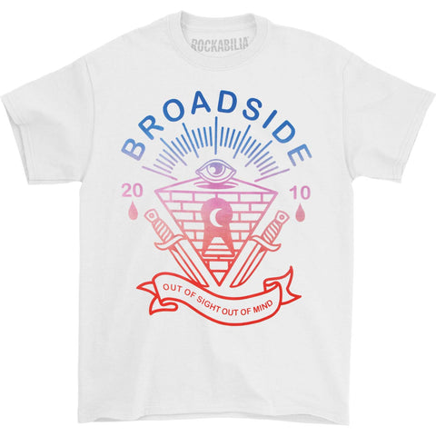 Broadside Men's  Out Of Mind T-shirt White