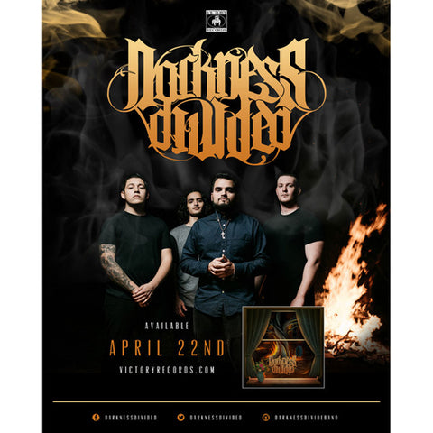 Darkness Divided Concert Promo Poster