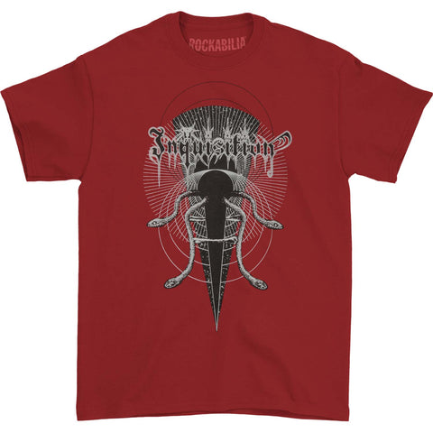 Inquisition Men's  Mystical Blood Tee T-shirt Red