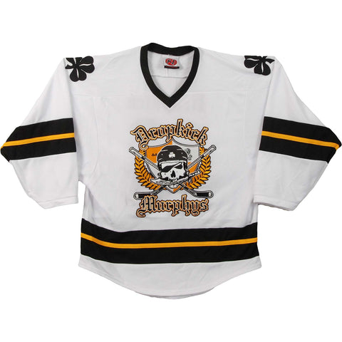 Dropkick Murphys Men's  White Hockey Jersey White