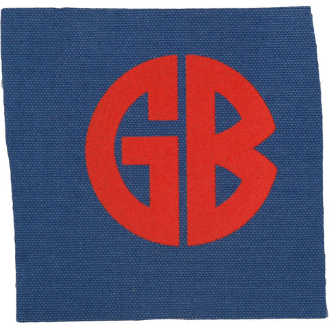 Gorilla Biscuits Men's Logo Screen Printed Patch Multi