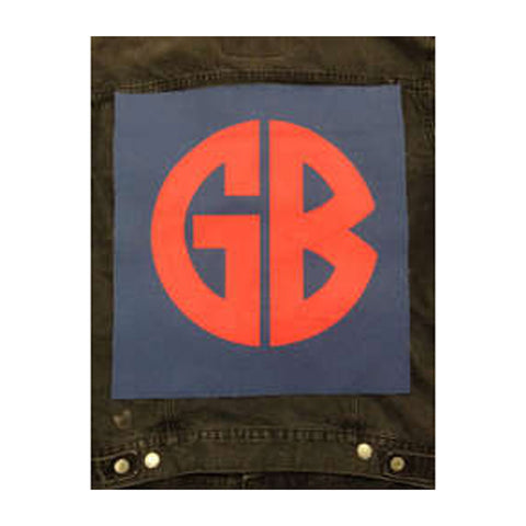 Gorilla Biscuits Men's Logo Back Patch Multi