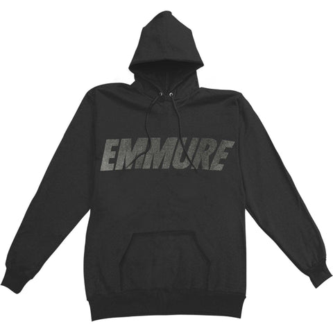 Emmure Men's  Sport Reflective Logo Hooded Sweatshirt Black