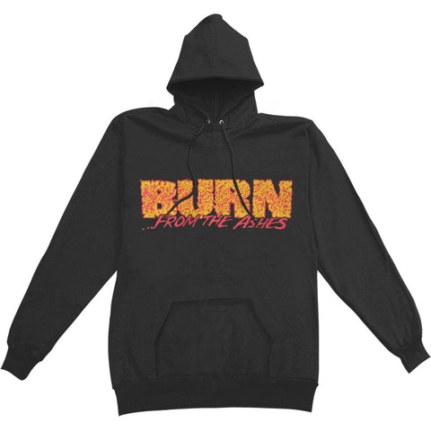Burn Men's  From The Ashes Hooded Sweatshirt Black