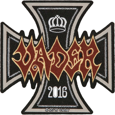 Vader Men's Iron Times Woven Patch Black