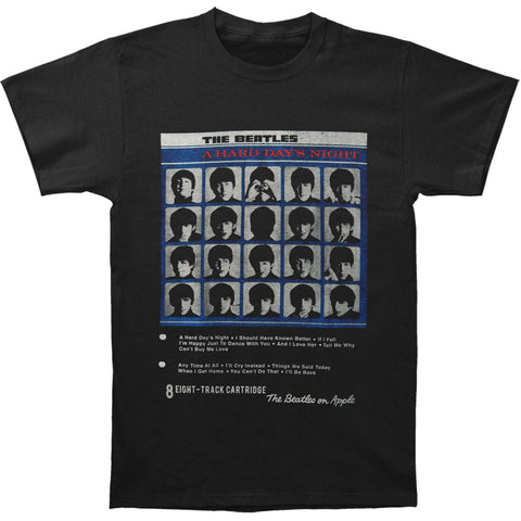 Beatles Men's  Hard Day's Night T-shirt Black