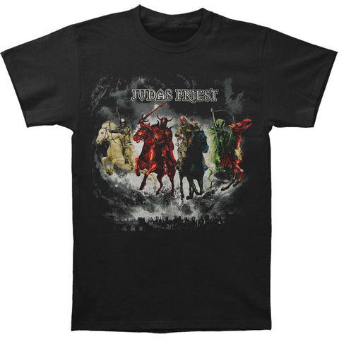 Judas Priest Men's  Horseman T-shirt Black