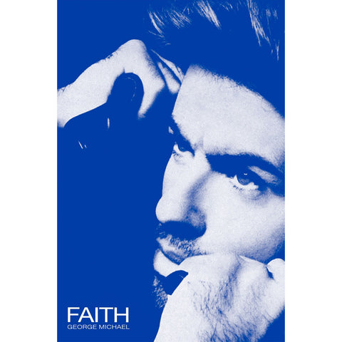 George Michael Domestic Poster