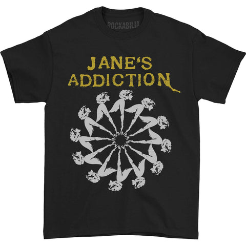 Janes Addiction Men's  Lady Wheel T-shirt Black