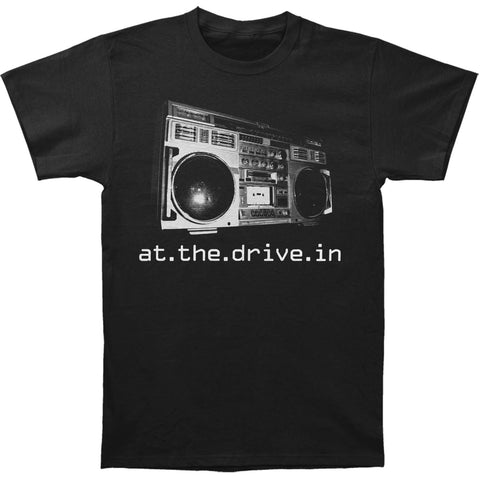 At The Drive In Men's  Boombox T-shirt Black