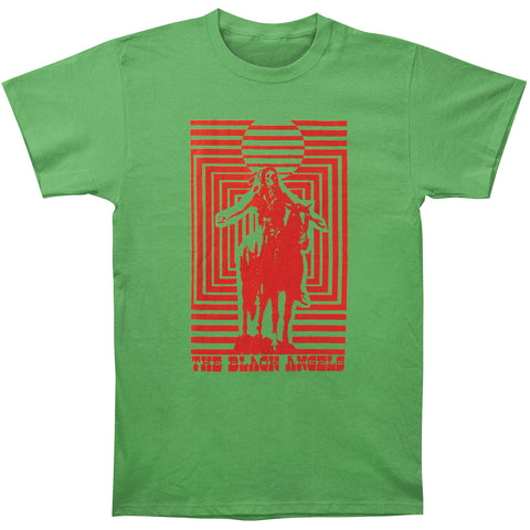 Black Angels Men's  Horse Rider Green Slim Fit T-shirt Green