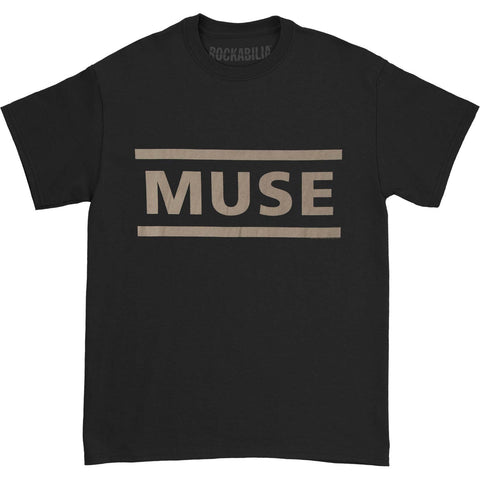 Muse Men's  Clean Logo T-shirt Black