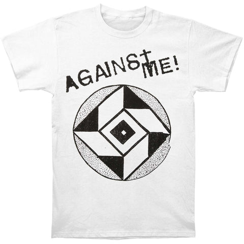Against Me Men's  Diamond Eye T-shirt White