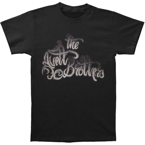 Avett Brothers Men's  Black Hanson Slim Fit T-shirt Black