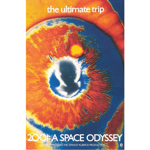 2001 A Space Odyssey Domestic Poster
