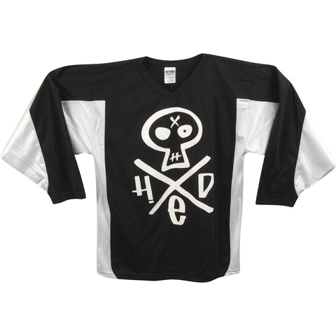 (hed)pe Men's  Hed Skull 95 Hockey Jersey White/Black