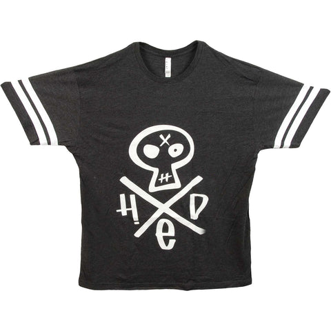 (hed)pe Men's  Hed Skull Footbal  Jersey Charcoal