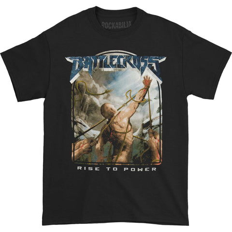 Battlecross Men's  Rise To Power T-shirt Black