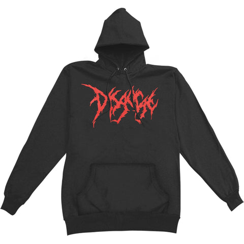 Disgorge Men's  Mary Hooded Sweatshirt Black