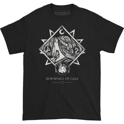 Downfall Of Gaia Men's  Insomnia T-shirt Black