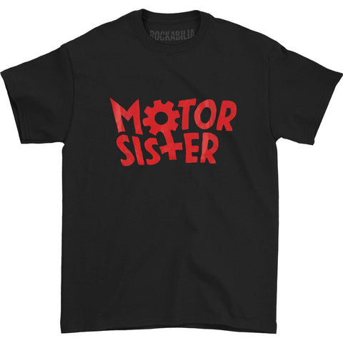 Motor Sister Men's  Logo T-shirt Black