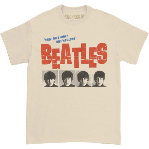 Beatles Men's  American Tour 64 T-shirt Grey