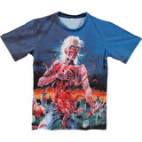 Cannibal Corpse Men's  Eaten Back To Life Sublimation T-shirt Multi
