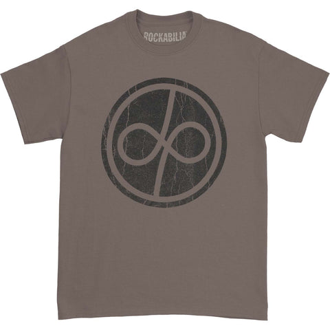 Deep Purple Men's  Infinite Distress Logo Charcoal Men's T-shirt Charcoal