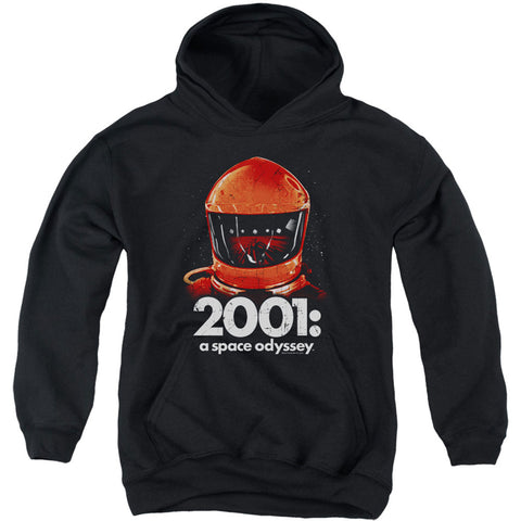 2001 A Space Odyssey Men's  Space Travel Hooded Sweatshirt Black