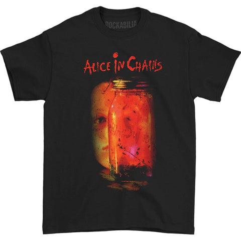 Alice In Chains Men's  Jar Of Flies Tee T-shirt Black