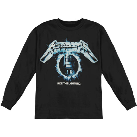 Metallica Men's  Eclipse Electric Chair Mens LS  Long Sleeve Black
