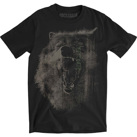 Deftones Men's  Wolf Slim Fit T-shirt Black