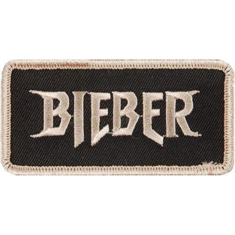 Justin Bieber Men's Bieber Embroidered Patch Grey
