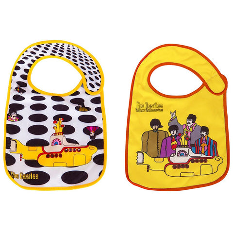 Beatles Boys' Bibs 2 Pack Miscellaneous Multi