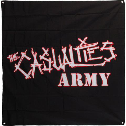 Casualties Poster Flag