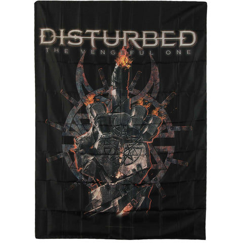 Disturbed Poster Flag