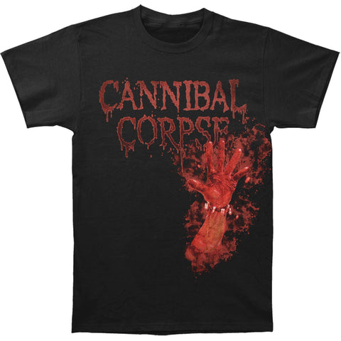 Cannibal Corpse Men's  Bloody Hand T-shirt Black