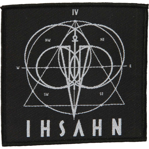 Ihsahn Men's Logo Woven Patch Black