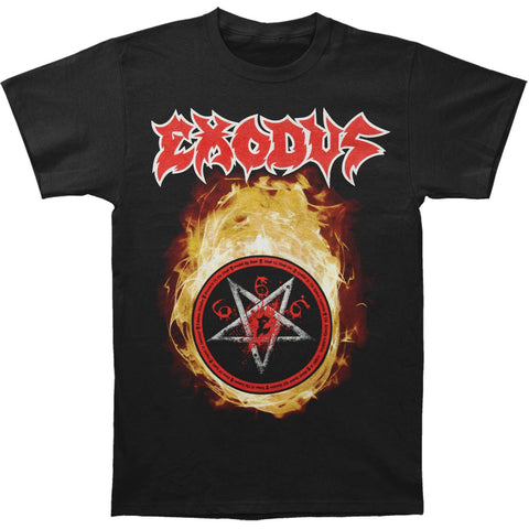 Exodus Men's  Fireball North America '17 T-shirt Black