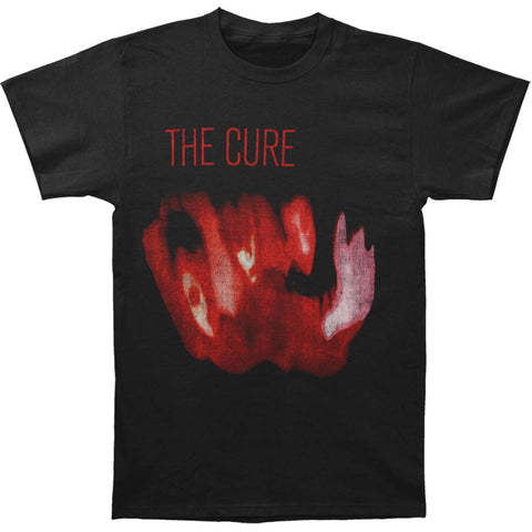 Cure Men's  Pornography Cover T-shirt Black