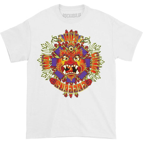 Red Hot Chili Peppers Men's  Dragon T-shirt White