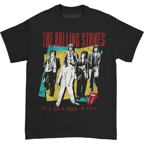 Rolling Stones Men's  It's Only Rock N Roll T-shirt Black