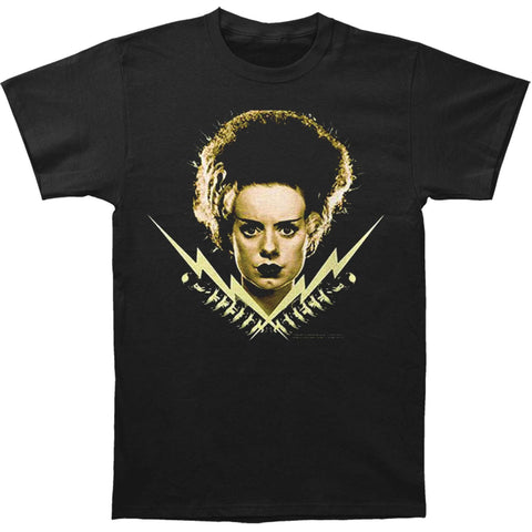 Bride Of Frankenstein Men's  Bride Bolts T-shirt Black