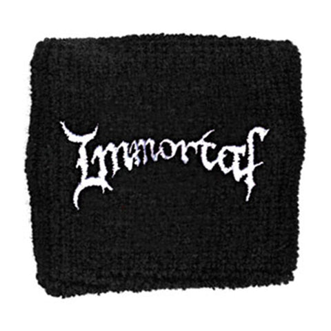 Immortal Men's Logo Athletic Wristband Black