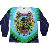 Grateful Dead Men's  Terrapin Station Tie Dye  Long Sleeve Multi