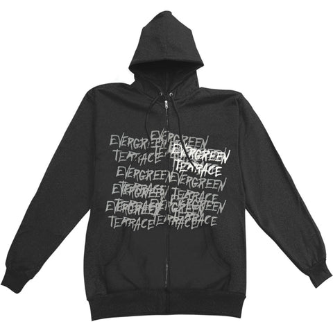 Evergreen Terrace Men's  Zippered Hooded Sweatshirt Black